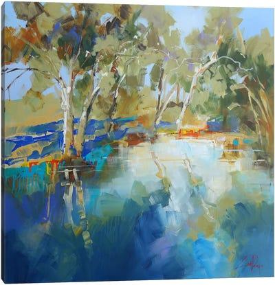 Cobram Creek Canvas Art Print