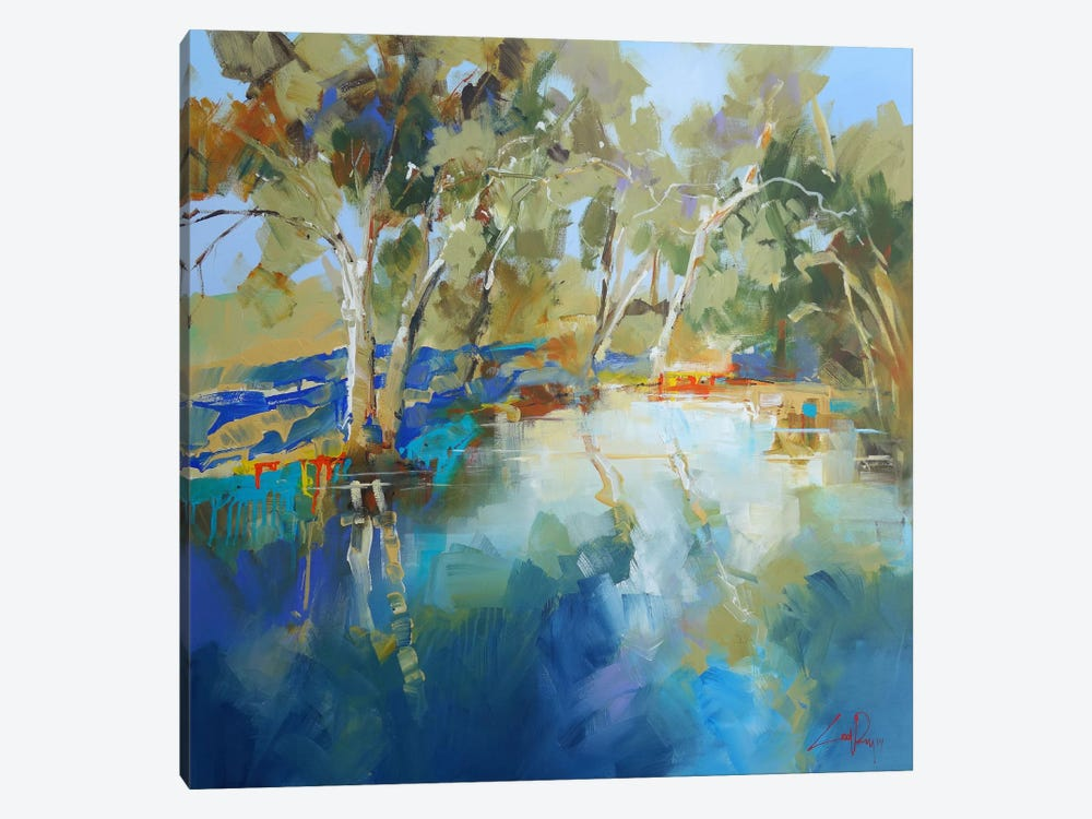 Cobram Creek by Craig Trewin Penny 1-piece Canvas Art