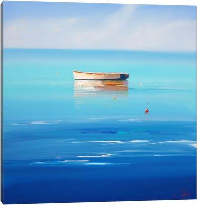 Four Buoys, Sorrento Canvas Art Print
