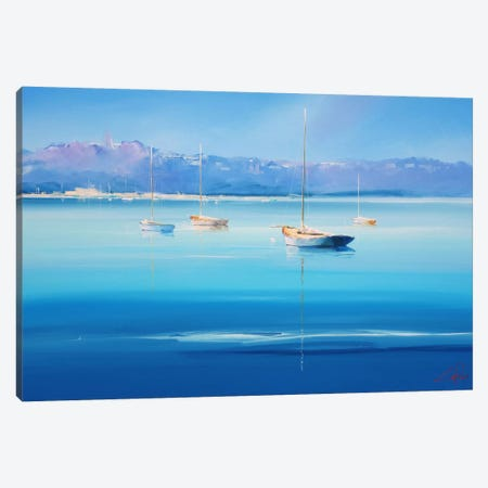 Gold Decks, Sorrento Canvas Print #CTP8} by Craig Trewin Penny Canvas Art
