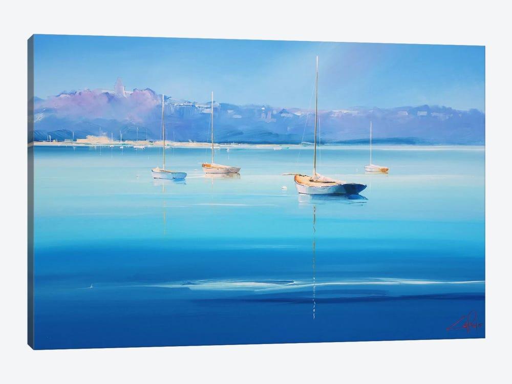 Gold Decks, Sorrento by Craig Trewin Penny 1-piece Canvas Print