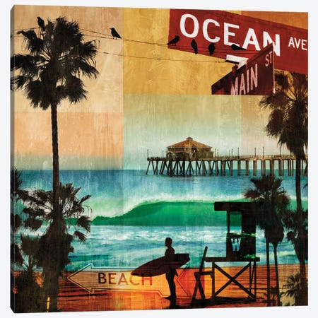 Ocean Avenue Canvas Print #CTR14} by Charlie Carter Canvas Art Print
