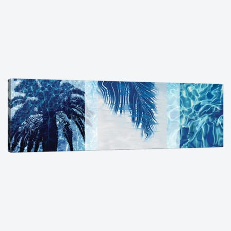 Palm Resort II Canvas Print #CTR16} by Charlie Carter Art Print
