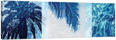Palm Resort II Canvas Art Print