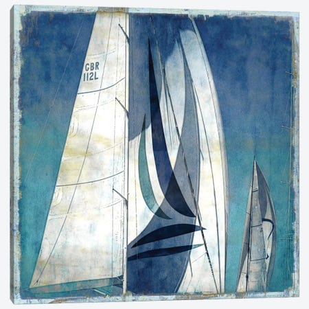 Sail Away I Canvas Print #CTR19} by Charlie Carter Canvas Artwork