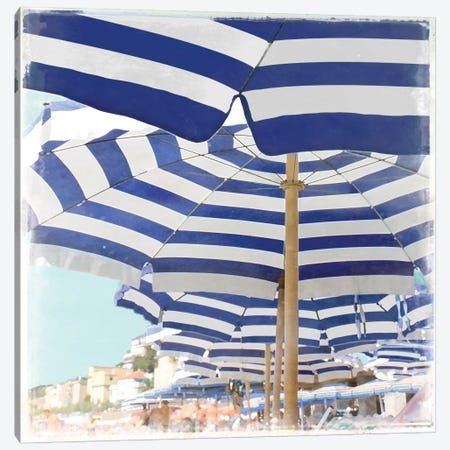 Beach Club Canvas Print #CTR1} by Charlie Carter Canvas Artwork