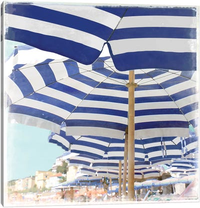 Beach Club Canvas Art Print