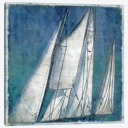 Sail Away II Canvas Print #CTR20} by Charlie Carter Canvas Print