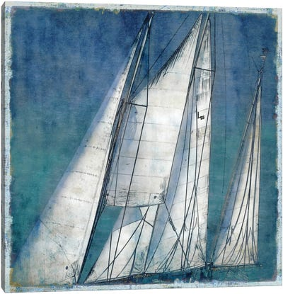 Sail Away II Canvas Art Print