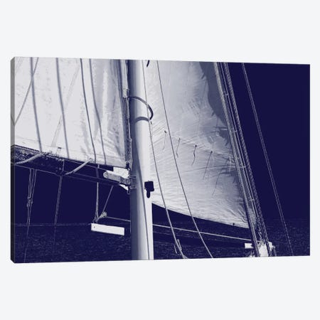Schooner Sails I Canvas Print #CTR21} by Charlie Carter Canvas Print