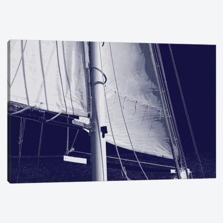 Schooner Sails I Canvas Print #CTR21} by Charlie Carter Canvas Print