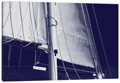 Schooner Sails I Canvas Art Print