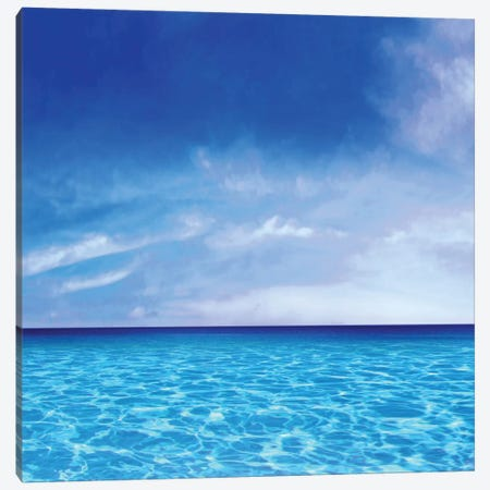 Sky And Water Canvas Print #CTR23} by Charlie Carter Canvas Print
