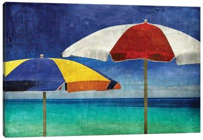 Beach Companions Canvas Print #CTR2
