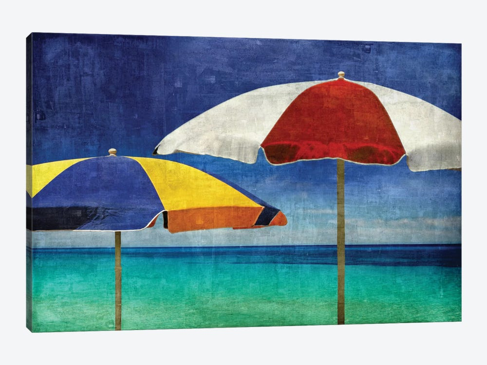 Beach Companions by Charlie Carter 1-piece Canvas Print