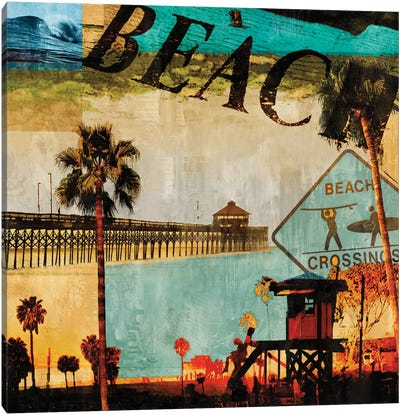 Beach Culture Canvas Art Print