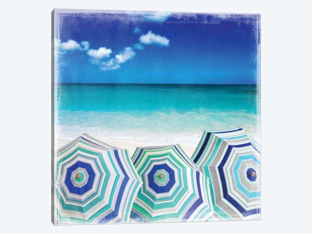 Beach Gathering by Charlie Carter 1-piece Art Print