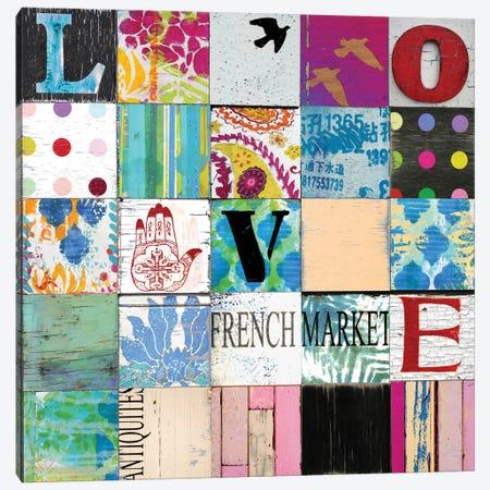 Boho Love Canvas Print #CTR7} by Charlie Carter Canvas Print
