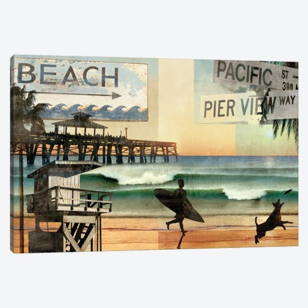 California Dreaming Canvas Print #CTR8} by Charlie Carter Canvas Artwork