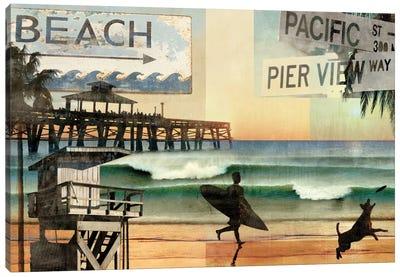 California Dreaming Canvas Art Print