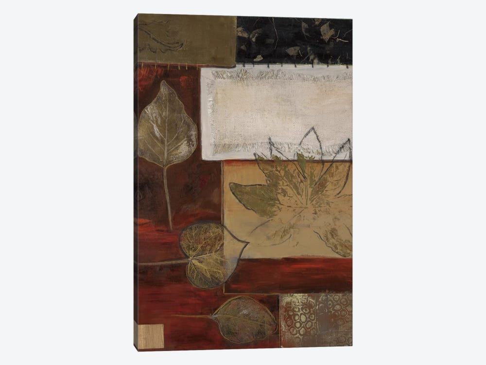 Burlap And Gold I by Connie Tunick 1-piece Art Print
