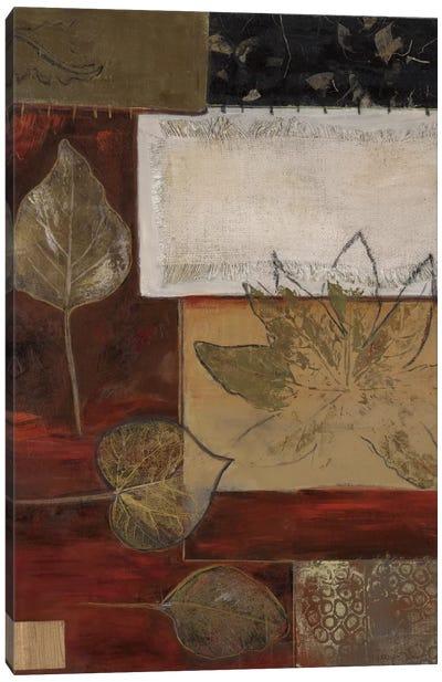 Burlap And Gold I Canvas Art Print