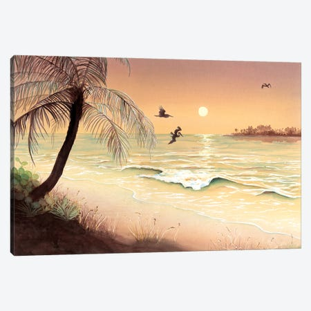 Evening Flight Canvas Print #CTW16} by Christine Reichow Canvas Art