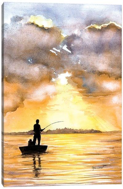 Fisherman's Paradise Canvas Art Print