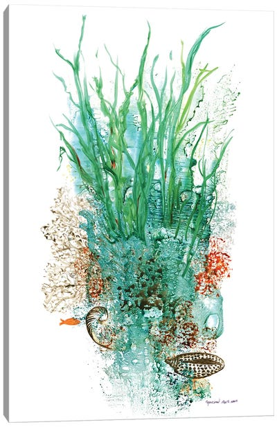 Flora Of The Deep I Canvas Art Print
