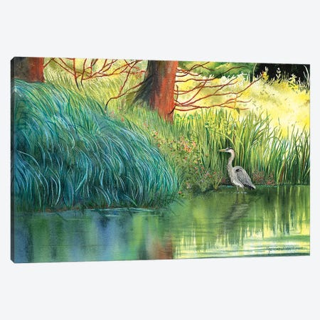 A Walk In The Park Canvas Print #CTW1} by Christine Reichow Canvas Print