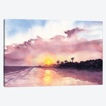 Florida Evening Canvas Print #CTW20} by Christine Reichow Canvas Artwork