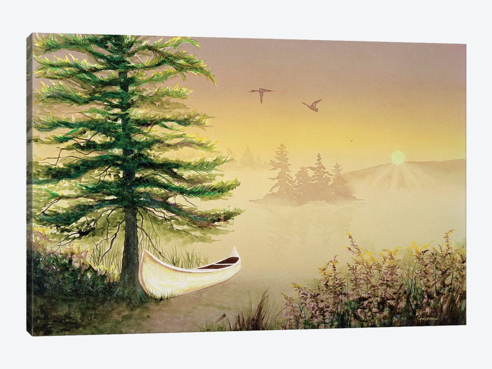 Heaven On Earth by Christine Reichow 1-piece Canvas Wall Art