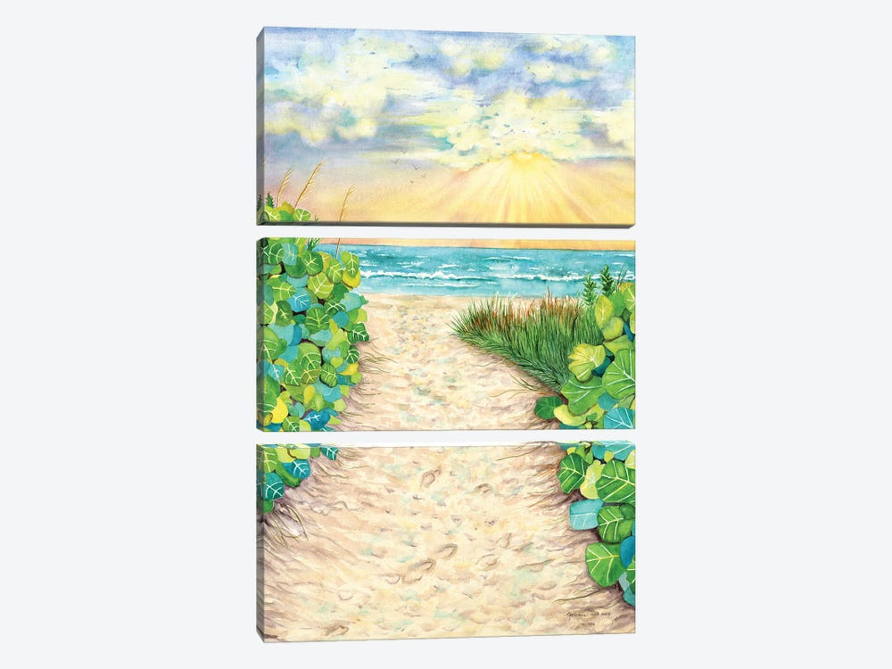 In My Dreams by Christine Reichow 3-piece Canvas Artwork