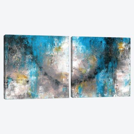 Rhythm Diptych Canvas Print Set #CTW2HSET001} by Christine Reichow Canvas Art