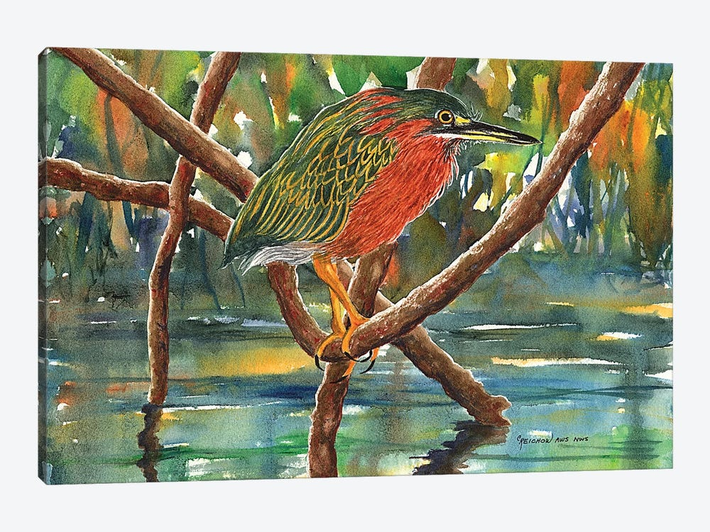 Mangrove Hotel by Christine Reichow 1-piece Canvas Wall Art
