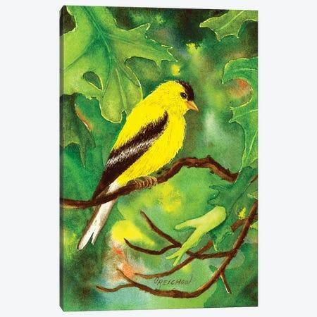 Oak Tree Habitat Canvas Print #CTW40} by Christine Reichow Canvas Wall Art