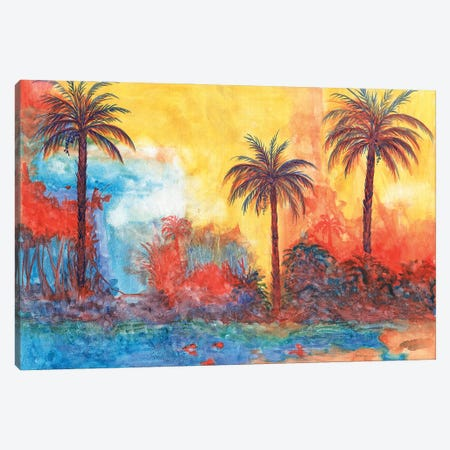 Palms Canvas Print #CTW45} by Christine Reichow Canvas Print