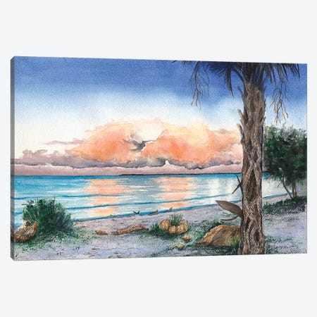 Almost Evening Canvas Print #CTW4} by Christine Reichow Canvas Artwork