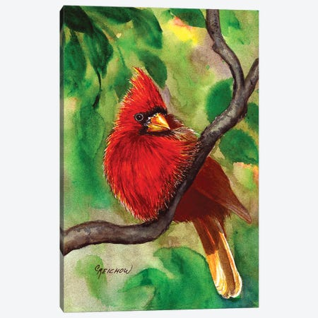 Regal Red Canvas Print #CTW52} by Christine Reichow Canvas Print