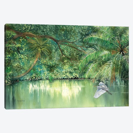 River Resident Canvas Print #CTW53} by Christine Reichow Canvas Print