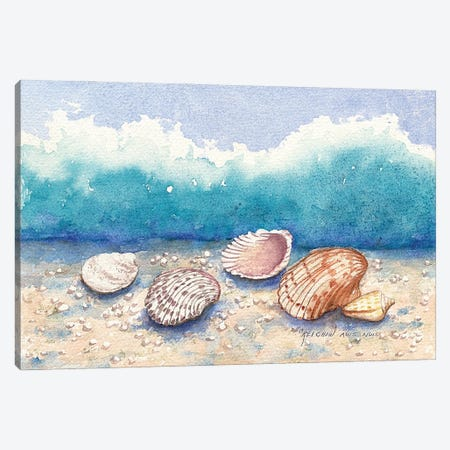Shellmates Canvas Print #CTW56} by Christine Reichow Canvas Wall Art