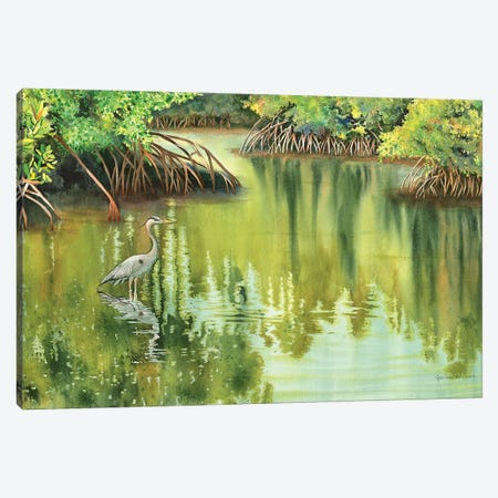 At Peace Canvas Print #CTW5} by Christine Reichow Canvas Artwork