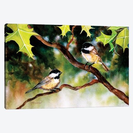 The Two Of Us Canvas Print #CTW63} by Christine Reichow Canvas Wall Art