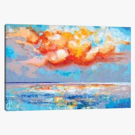Brilliant Sky I Canvas Print #CTW74} by Christine Reichow Canvas Wall Art