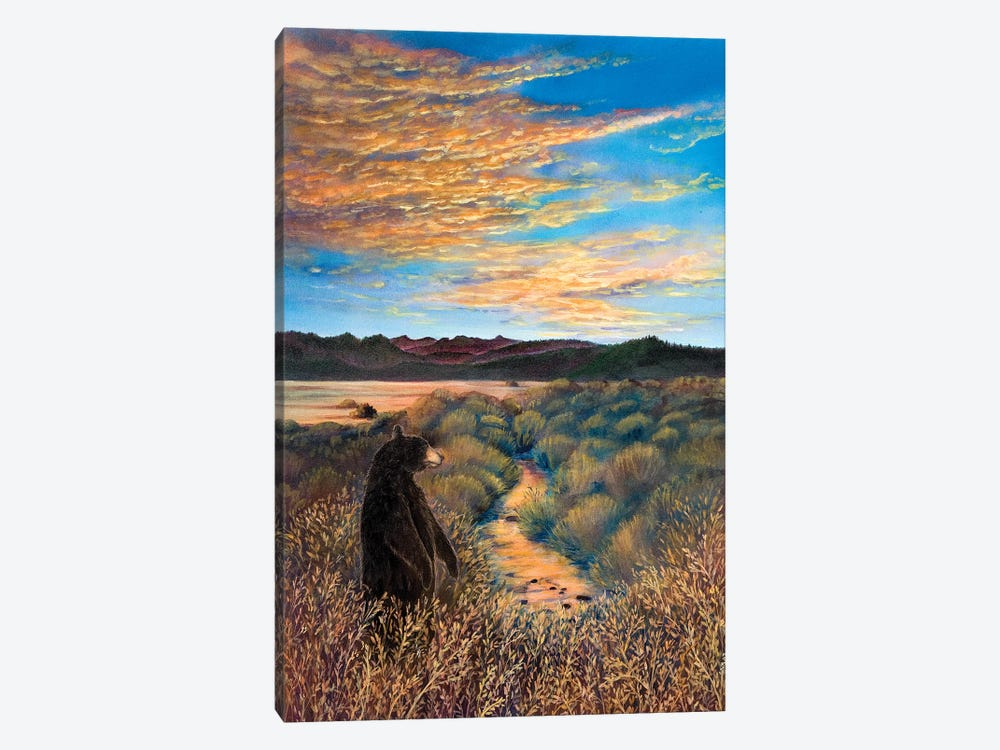 Looking West At Martis by Cathy McClelland 1-piece Canvas Art Print