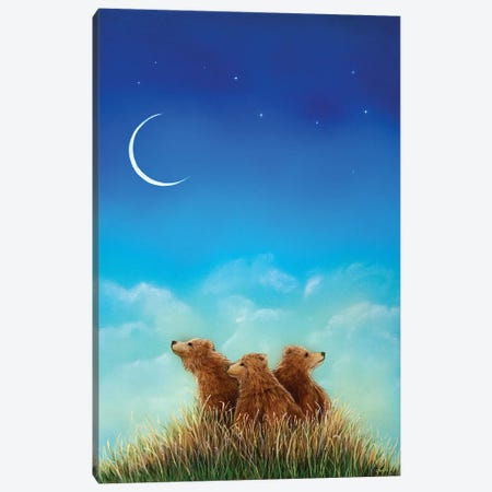 New Dawn Canvas Print #CTY14} by Cathy McClelland Canvas Wall Art