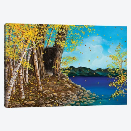 One Fall Day Canvas Print #CTY15} by Cathy McClelland Canvas Wall Art