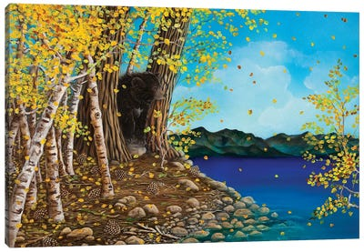 One Fall Day Canvas Art Print