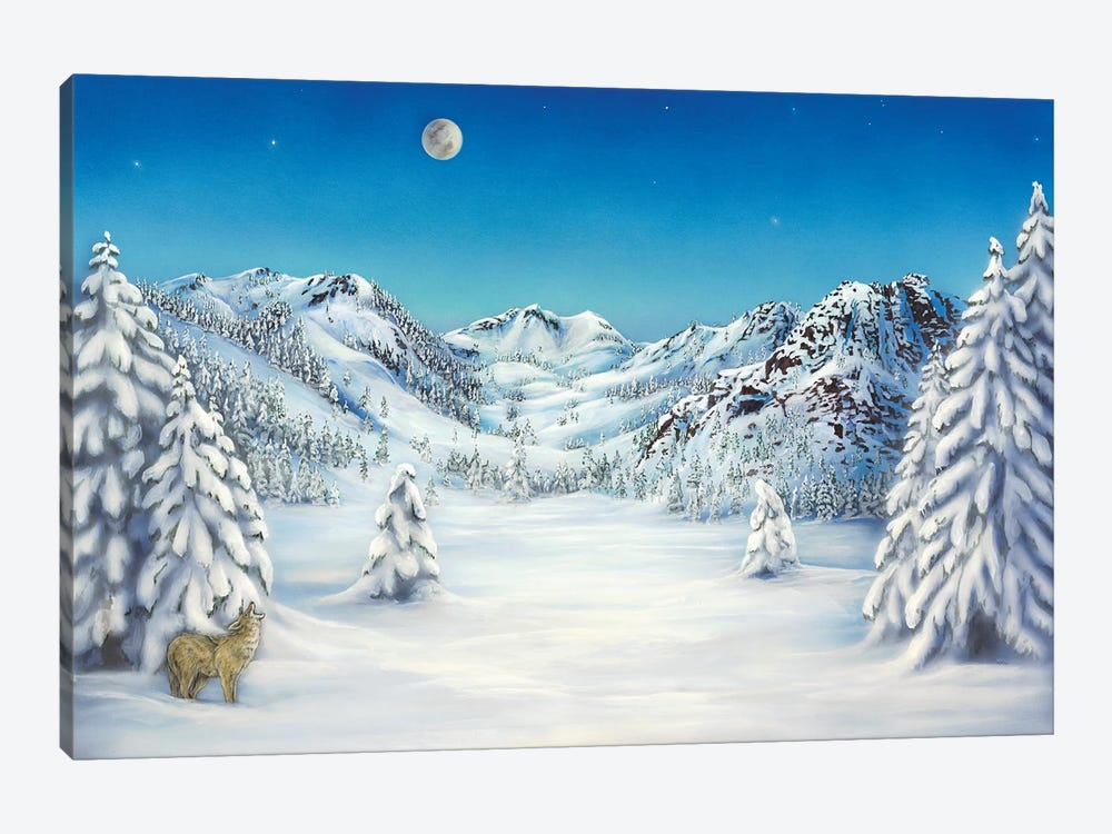 The Cry Of Squaw Valley by Cathy McClelland 1-piece Canvas Art
