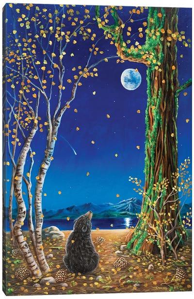 One Fall Evening Canvas Art Print